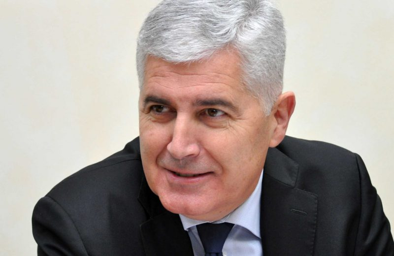 Čović talks with Lajčak about political and security situation in BiH