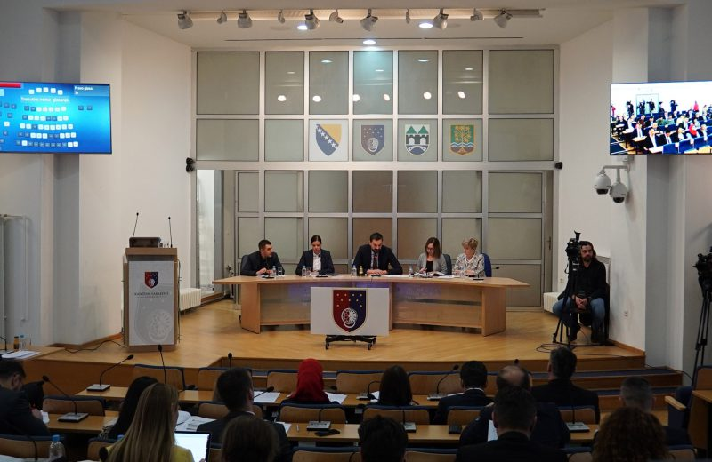 SC Assembly elects delegates to House of Peoples of FBiH Parliament