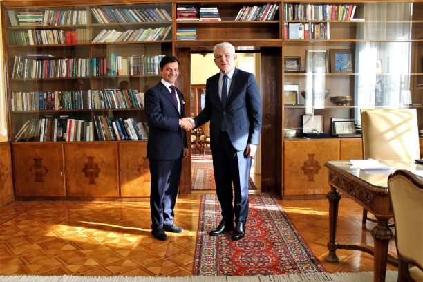 Džaferović – Minasi: Good bilateral relations between BiH and Italy
