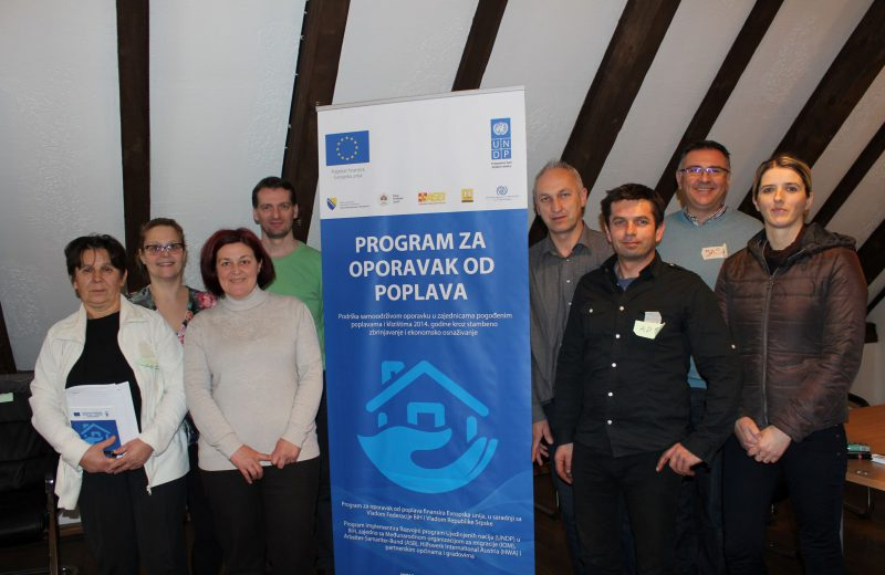 UNDP BiH – Support to BiH population hit by 2014 floods and landslides continues