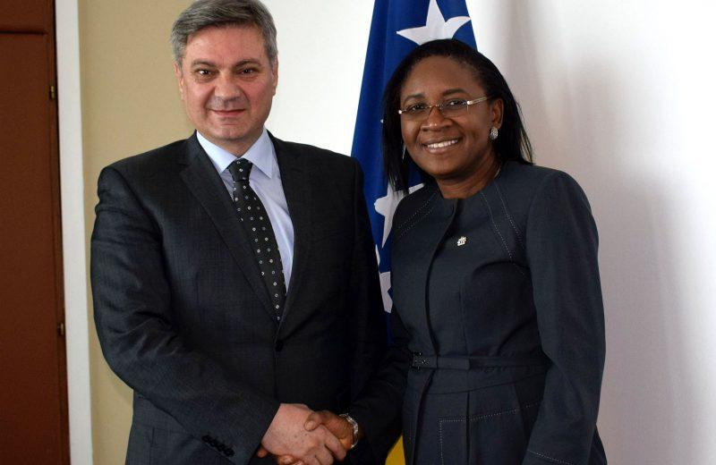 Zvizdić- Ajayi: BiH and Nigeria need to improve relations in all segments