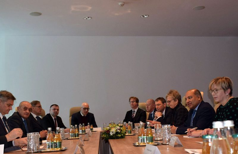 Chairman Zvizdić meets with EBRD delegation in Sarajevo