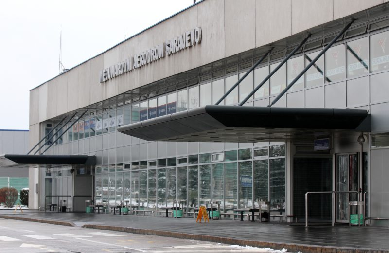 Sarajevo International Airport operates under schedule without delayed flights