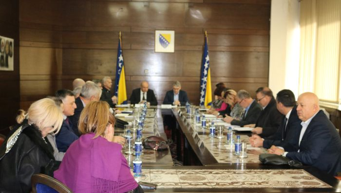 Meeting at FBiH Govt. headquarters – Convene HoP session and adopt the budget