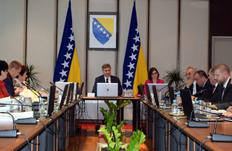 BiH CoM tomorrow to discuss 2019 budget and Annual National Program with NATO