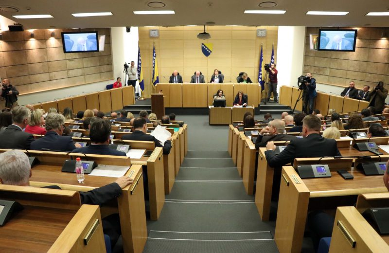 Constituting session of House of Representatives of PFBiH to resume on January 9