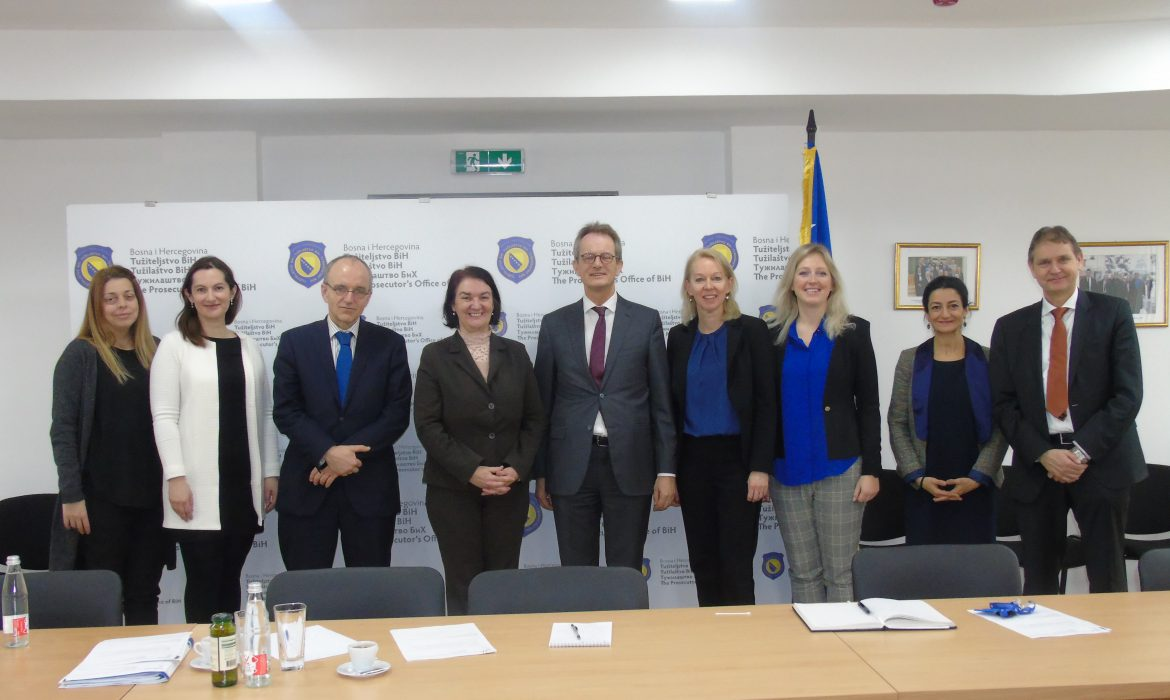 Delegation from the Kingdom of the Netherlands visits BiH Prosecutor's Office