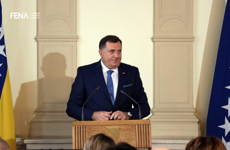 Dodik: I am not satisfied with the position of Serbs in BiH Armed Forces
