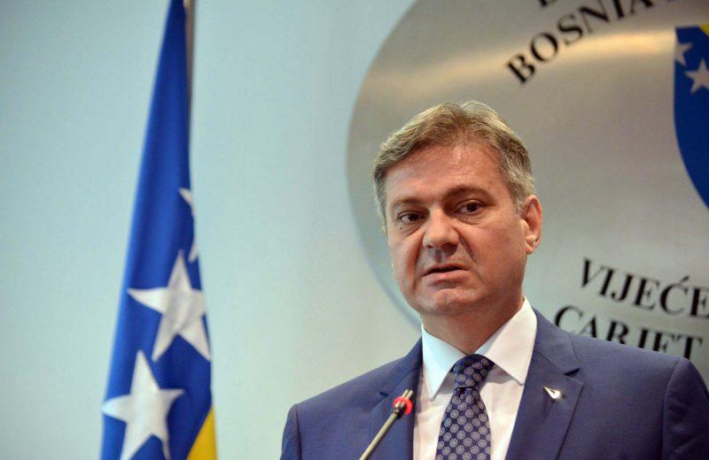 Zvizdić congratulates Prime Minister of Romania on chairmanship of the EU
