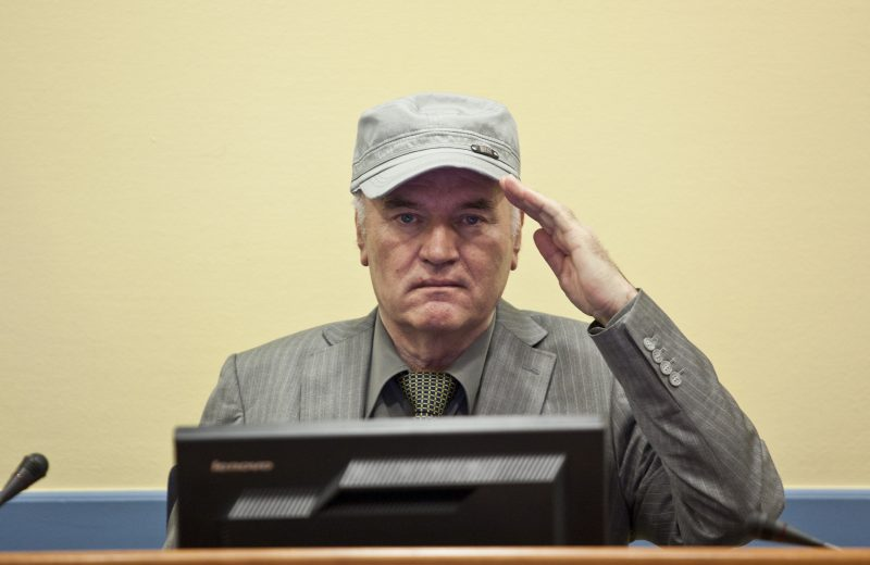 ICTY/IRMCT: Ratko Mladić appeal hearing to take place on August 25 and 26