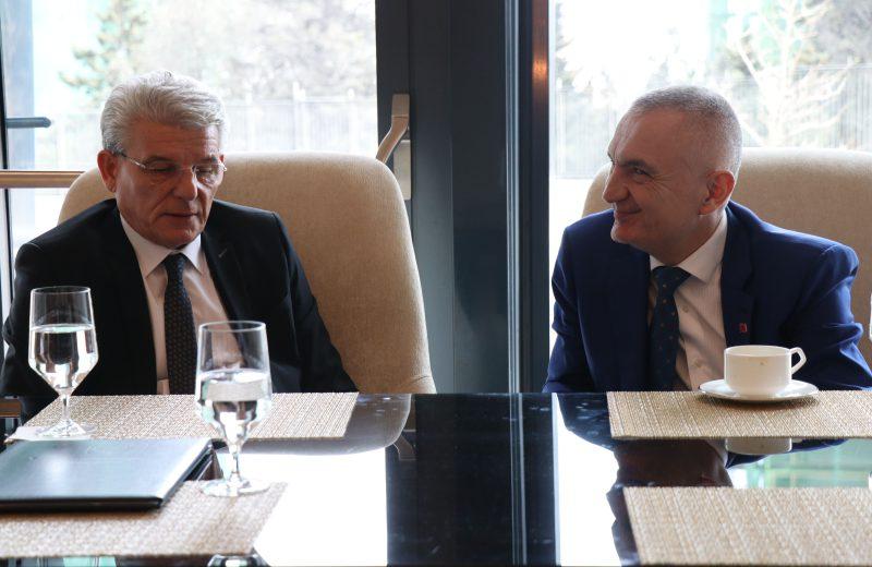 Džaferović meets with presidents of Albania and Azerbaijan