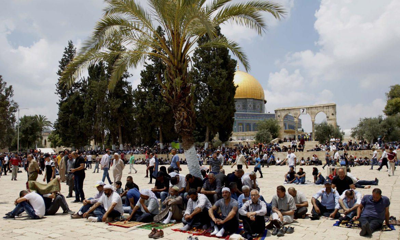 Palestinian presidency condemns Israeli escalation at Al-Aqsa Mosque