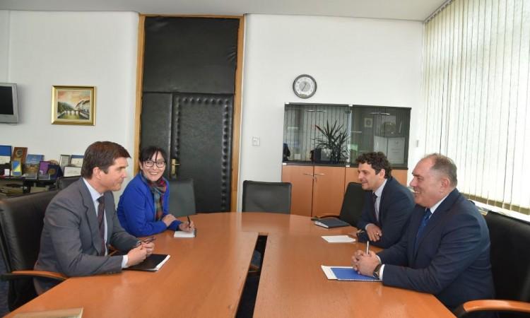 Security Minister Mektić meets with US Ambassador Eric Nelson